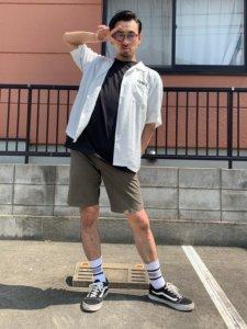 バーバースタイル夏ファッション