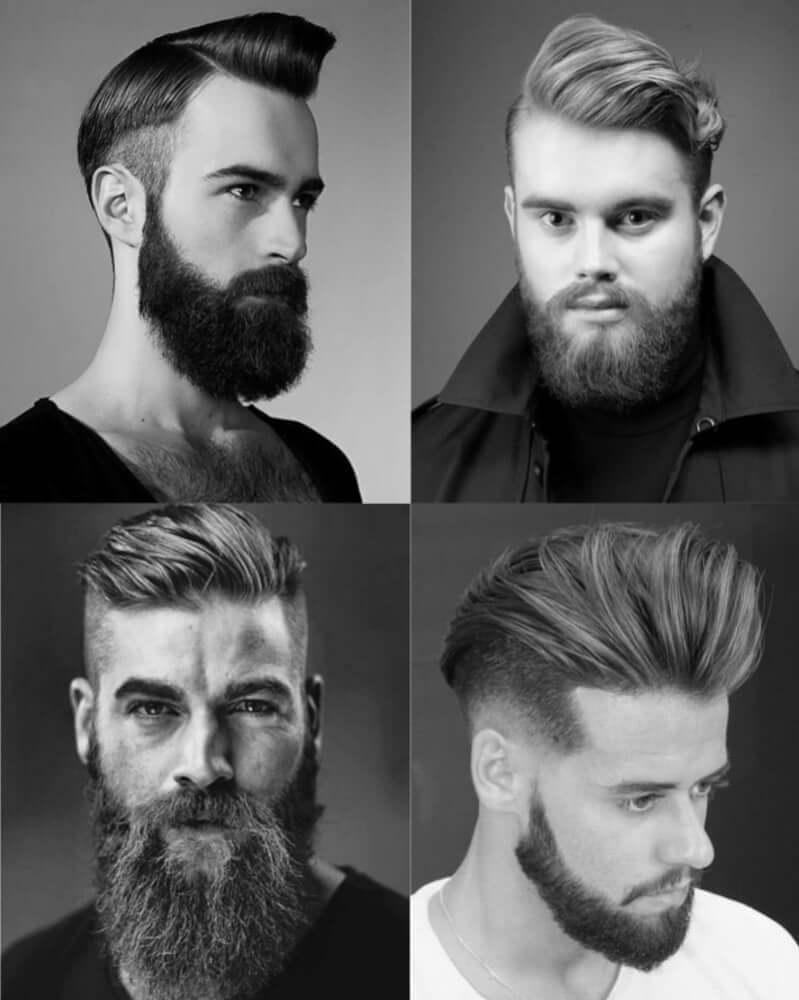 髭コームオーバー