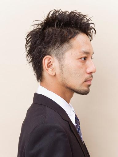 ショート薄毛