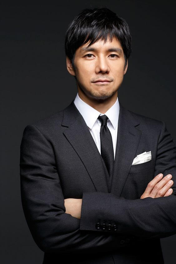 MOZ西島秀俊さんの髪型