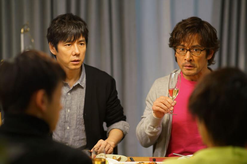 きのう何食べた西島秀俊さんの髪型